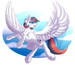 Size: 4758x4116 | Tagged: absurd resolution, artist:amazing-artsong, female, mare, oc, oc only, oc:retro city, pegasus, pony, safe, solo