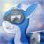Size: 1501x1500 | Tagged: safe, artist:jesterpi, oc, oc:zero, original species, plane pony, pony, blue, bright, flare, flying engines, jet pony, plane, profile, sky, smiling, smirk, sun