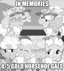 Size: 500x560 | Tagged: apple rose, auntie applesauce, edit, edited screencap, gold horseshoe gals, goldie delicious, grannies gone wild, granny smith, safe, screencap