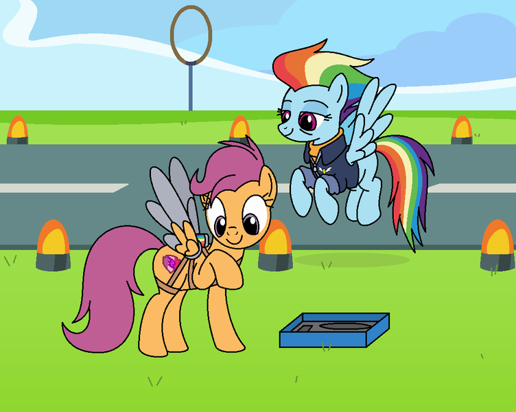 2173305 Safe Artist Author92 Derpibooru Exclusive Rainbow Dash Scootaloo Pegasus Pony The Last Problem Spoiler S09e26 Artificial Wings Augmented Clothes Female Happy Birthday Mlp Fim Mare Mechanical Wing Mlp Fim S Ninth Anniversary She first appears in friendship is magic, part 1 scootaloo and her friends, apple bloom and sweetie belle form the cutie mark crusaders, a club. birthday mlp fim