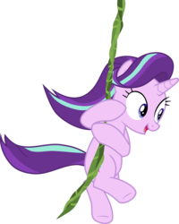 Size: 6519x8144 | Tagged: safe, artist:uigsyvigvusy, starlight glimmer, pony, unicorn, road to friendship, absurd resolution, female, mare, simple background, transparent background, vector, vine