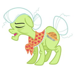 Size: 6308x5584 | Tagged: safe, artist:estories, granny smith, pony, absurd resolution, simple background, solo, transparent background, vector
