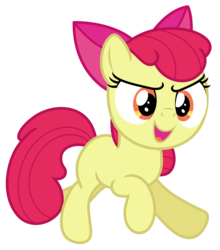 Size: 5274x6000 | Tagged: absurd resolution, apple bloom, artist:estories, pony, safe, simple background, solo, transparent background, vector