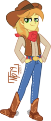 Size: 742x1745 | Tagged: artist:tassji-s, braeburn, equestria girls, equestria girls-ified, human, male, safe, simple background, solo, transparent background