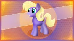 Size: 5120x2880   Tagged: safe, artist:startledflowerpony, power chord, pony, solo