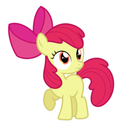 Size: 5924x6250 | Tagged: absurd resolution, apple bloom, artist:estories, pony, safe, simple background, solo, transparent background, vector