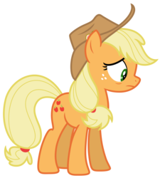 Size: 5935x6586 | Tagged: absurd resolution, applejack, artist:estories, pony, safe, simple background, solo, transparent background, vector