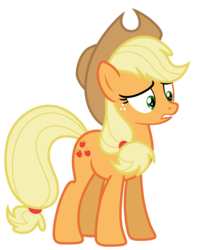 Size: 5311x6586 | Tagged: absurd resolution, applejack, artist:estories, pony, safe, simple background, solo, transparent background, vector