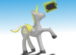 Size: 11000x8000 | Tagged: alicorn, alicorn oc, artist:790113822, male, oc, oc:golden halo, oc only, pony, safe, solo, stallion, wacom