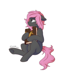 Size: 1200x1400 | Tagged: artist:soulfulmirror, book of friendship, earth pony, female, mare, oc, pony, safe, simple background, solo, transparent background