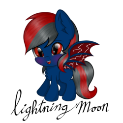 Size: 2048x2048 | Tagged: artist:dawnshine, bat pony, bust, cute, looking at you, male, oc, oc:lightning moon, oc only, pony, portrait, safe, simple background, smiling, solo, stallion, transparent background
