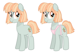 Size: 1024x692 | Tagged: apron, artist:ashidaii, clothes, earth pony, female, mare, oc, oc:fairylight, pony, safe, simple background, solo, transparent background