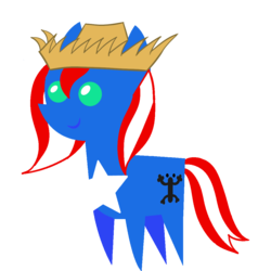 Size: 1080x1080 | Tagged: artist:archooves, coqui, derpibooru exclusive, earth pony, female, hat, mare, nation ponies, oc, oc:taina, pointy ponies, ponified, pony, puerto rico, safe, simple background, solo, transparent background