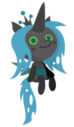 Size: 1750x3000 | Tagged: artist:besttubahorse, changelings in the comments, cute, doll, former queen chrysalis, plushie, queen chrysalis, safe, smiling, solo, spoiler:s09e24, spoiler:s09e25, .svg file, the ending of the end, toy, vector