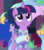 Size: 1600x1800 | Tagged: safe, screencap, twilight sparkle, alicorn, bird, butterfly, hummingbird, spider, star spider, the last problem, spoiler:s09e26, alternate hairstyle, clothes, cropped, cute, dress, second coronation dress, solo, twiabetes, twilight sparkle (alicorn)