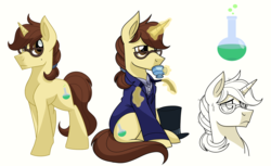 Size: 2000x1220   Tagged: safe, artist:itstaylor-made, pony, henry jekyll, jekyll & hyde, ponified
