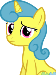 Size: 449x600 | Tagged: safe, artist:cyanlightning, edit, vector edit, lemon hearts, pony, unicorn, amending fences, simple background, solo, transparent background, vector