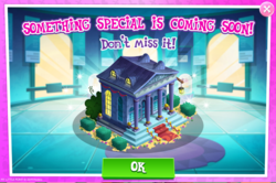 Size: 1037x690   Tagged: safe, pony, advertisement, building, gameloft, limited-time story