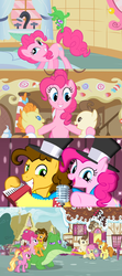 Size: 1280x2880 | Tagged: accordion, alligator, awww, baby, baby cakes, baby pony, babysitting, cake twins, callback, cheesepie, cheese sandwich, comic, cupcake, dawwww, earth pony, edit, edited screencap, family, feeling pinkie keen, female, foal, food, full circle, glowing horn, gummy, happy ending, heartwarming, horn, husband and wife, li'l cheese, luster dawn, male, married couple, microphone, montage, musical instrument, older, older cheese sandwich, older gummy, older pinkie pie, older pound cake, older pumpkin cake, party horn, pegasus, pinkie pie, pinkie pride, pony, ponyville, pound cake, pumpkin cake, safe, screencap, screencap comic, shipping, siblings, spoiler:s09e26, straight, sugarcube corner, the last problem, the magic of friendship grows, then and now, twins, unicorn