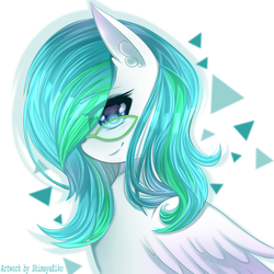 Size: 1000x1000 | Tagged: safe, artist:shimayaeiko, oc, oc only, oc:color canvas, pegasus, pony, commission, female, mare, solo