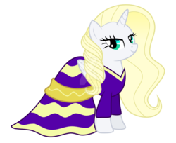 Size: 988x808 | Tagged: alicorn, artist:kianamai, artist:tigerbeetle, beautiful, elegant, not rarity, oc, oc only, oc:princess sur lucy prise, princess pony, safe, simple background, solo, transparent background