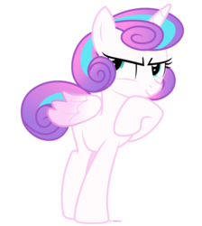 Size: 1024x1145 | Tagged: safe, artist:tigerbeetle, princess flurry heart, pony, colored wings, confidence, confident, confidential, crystal princess, determination, determined, female, gradient mane, gradient wings, hooves to the chest, hooves together, lightly watermarked, offspring, older, older flurry heart, parent:princess cadance, parent:shining armor, parents:shiningcadance, pose, raised hoof, ruffled feathers, simple background, solo, the next generation, transparent background, watermark, wings