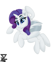 Size: 4021x4423 | Tagged: absurd resolution, alternate version, artist:theretroart88, background removed, female, four eyes, halloween, holiday, horn, monster pony, multiple eyes, original species, rarity, safe, smiling, solo, species swap, spiderpony, spiderponyrarity, spider web, vector