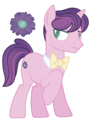 Size: 648x875 | Tagged: safe, artist:peachyprocyonid, oc, pony, unicorn, base used, bowtie, magical lesbian spawn, male, offspring, parent:cheerilee, parents:rarilee, simple background, solo, stallion, transparent background