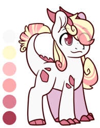 Size: 1639x2105 | Tagged: artist:cloureed, crystal pony, derpibooru exclusive, dracony, dragon, hybrid, oc, oc only, oc:ruby rose, pony, redesigned, reference sheet, revived oc, safe