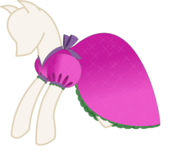 Size: 1015x895 | Tagged: safe, artist:nittany discord, derpibooru exclusive, bow, clothes, dress, dressform, mannequin, no pony, sash, simple background, transparent background