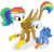 Size: 1280x1224   Tagged: safe, artist:shizow, oc, oc:gren, oc:rainbow feather, griffon, hippogriff, hybrid, brother and sister, female, interspecies offspring, magical lesbian spawn, male, next generation, offspring, parent:gilda, parent:rainbow dash, parents:gildash, siblings