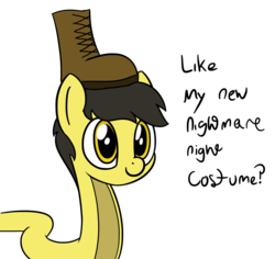 Size: 3587x3381 | Tagged: artist:czu, boot, don't tread on me, gadsden flag, male, nightmare night, no step, no step on snek, original species, safe, simple background, snake, snake pony, snek, solo, transparent background