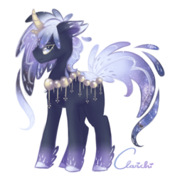 Size: 778x814 | Tagged: safe, artist:clarichi, oc, oc:starry heavens, original species, pond pony, male, simple background, solo, stallion, transparent background