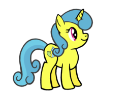 Size: 2732x2048 | Tagged: safe, artist:turnaboutart, lemon hearts, pony, unicorn, cute, female, lemonbetes, mare, solo