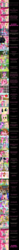 Size: 2000x26394 | Tagged: safe, artist:mlp-silver-quill, amethyst star, applejack, chancellor neighsay, comet tail, cozy glow, cup cake, derpy hooves, diamond tiara, discord, flash magnus, fluttershy, gallus, grogar, king sombra, lightning dust, lord tirek, pinkie pie, prince rutherford, princess cadance, princess celestia, queen chrysalis, rainbow dash, rarity, silverstream, smooze, sparkler, star swirl the bearded, starlight glimmer, stellar flare, storm king, sweetie belle, tempest shadow, trouble shoes, twilight sparkle, alicorn, changeling, changeling queen, comic:pinkie pie says goodnight, my little pony: the movie, :i, against glass, armor, batman, batman: the brave and the bold, blushing, breaking the fourth wall, canada, comic, crossover, cute, disguise, disguised changeling, fake cadance, female, fourth wall, glass, guard armor, jim miller, leaning on the fourth wall, madame pinkie, mane six, petrification, self paradox, shyabetes, sleeping, snow globe, starry eyes, statue, storm guard, thumbnail is a stick, twilight sparkle (alicorn), wall of tags, wingding eyes
