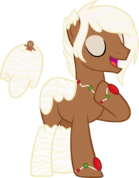 Size: 1528x1962 | Tagged: safe, artist:crystalponyart7669, oc, oc only, oc:milky nutmeg, original species, pony, aqua pony, floating tail, male, simple background, solo, stallion, transparent background