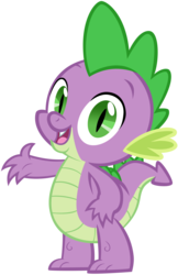 Size: 3908x6018 | Tagged: safe, artist:andoanimalia, spike, dragon, absurd resolution, cute, looking at you, male, open mouth, simple background, solo, spikabetes, transparent background, vector