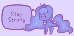 Size: 1121x548   Tagged: safe, artist:typhwosion, princess luna, alicorn, pony, female, positive ponies, solo