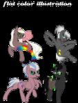 Size: 2276x3024 | Tagged: safe, bat pony, earth pony, pegasus, pony, unicorn, advertisement, book, clothes, commission, commission info, rainbow socks, simple background, socks, striped socks, transparent background