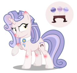 Size: 1280x1209 | Tagged: artist:star-gaze-pony, female, mare, oc, oc:roulade mi bella, offspring, parent:biscuit, parent:sweetie belle, pony, safe, simple background, solo, transparent background, unicorn
