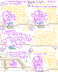 Size: 1280x1611 | Tagged: adorkable, adorkable twilight, alicorn, applejack, artist:adorkabletwilightandfriends, atlas, blushing, camping, comic, comic:adorkable twilight and friends, conversation, cute, dashboard, dork, driving, earth pony, friendship, girl talk, happy, hat, hat off, humor, jeep, jeep grand wagoneer, long hair, loose hair, love, map, normal, pony, rainbow dash, regret, relationships, rules, safe, social norms, societal norms, society, suv, talking, twilight burgkle, twilight sparkle, twilight sparkle (alicorn), wholesome