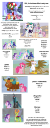 Size: 1069x2714 | Tagged: safe, edit, edited screencap, screencap, gilda, pinkie pie, prince rutherford, princess celestia, princess luna, queen chrysalis, rarity, scootaloo, starlight glimmer, sweetie belle, thorax, changedling, changeling, griffon the brush off, hearth's warming eve (episode), it isn't the mane thing about you, not asking for trouble, the ending of the end, to where and back again, spoiler:s09e25, 8 foot candy cane, alternate hairstyle, analysis, candy, candy cane, comparison chart, food, height, height scale, king thorax, math, punk, raripunk, scale, size comparison, text