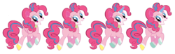 Size: 1054x324 | Tagged: alicorn, alicornified, artist:greenmarta, crossover, earth pony, fusion, lego, pegasus, pinkiecorn, pinkie pie, pony, race swap, safe, simple background, the lego movie, unicorn, unikitty, white background, xk-class end-of-the-world scenario