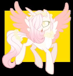 Size: 1280x1327 | Tagged: safe, artist:sweetie-drawz, oc, alicorn, pony, alicorn oc, female, mare, solo