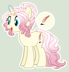 Size: 1660x1752 | Tagged: safe, artist:starling-sentry-yt, oc, pony, unicorn, base used, female, magical lesbian spawn, mare, offspring, parent:fluttershy, parent:rarity, parents:flarity, simple background, solo, white outline