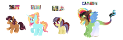 Size: 1900x630 | Tagged: artist:unoriginai, big macintosh, crack ship offspring, crack shipping, daringdancer, daring do, discord, female, hybrid, interspecies offspring, lesbian, magical gay spawn, magical lesbian spawn, moondancer, multiple parents, offspring, older, older scootaloo, parent:big macintosh, parent:daring do, parent:discord, parent:moondancer, parent:sassy saddles, parent:scootaloo, parent:shining armor, parent:spike, parent:troubleshoes clyde, parent:zephyr breeze, safe, sassy saddles, scootaloo, shining armor, shipping, spike, trouble shoes, zephyr breeze