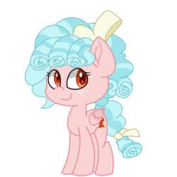 Size: 2000x2000 | Tagged: safe, artist:solardoodles, cozy glow, pegasus, pony, base used, cozybetes, curly hair, cute, freckles, smiling, solo