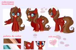 Size: 2187x1445 | Tagged: artist:2pandita, female, hat, mare, nurse hat, oc, oc:heartbeat, pegasus, pony, reference sheet, safe, solo