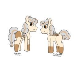Size: 2048x1536 | Tagged: safe, artist:mintymelody, oc, oc:oven baked coconut, oc:partially roasted marshmallow, earth pony, pegasus, pony, female, siblings, sisters, twins