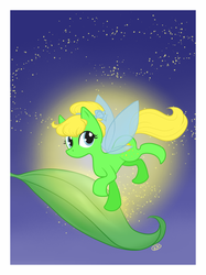 Size: 700x937 | Tagged: safe, artist:kennasaur, fairy, fairy pony, original species, pony, fairy wings, ponified, tinker bell, tinkerbell, wings